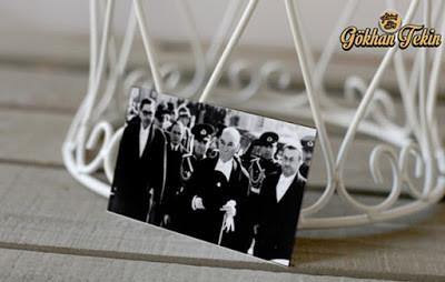 Mustafa Kemal ve arkadaşları mecslise giderken