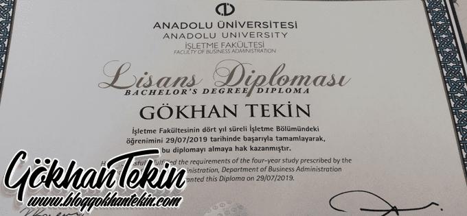 Anadolu Üniversitesi İşletme Bölümü